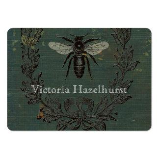 No. francés 6 de la abeja tarjetas de visita grandes