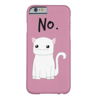 """""""NO """" FUNDA BARELY THERE iPhone 6"""