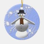 No hable ninguna decoración malvada del árbol de n ornamento de navidad
