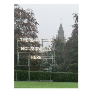 No habrá arte de Edimburgo de los milagros aquí - Postal