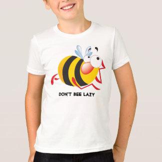 No hace la camisa perezosa de la abeja para los