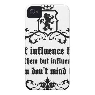 No hace la cita de los amigos de Influece Funda Para iPhone 4 De Case-Mate