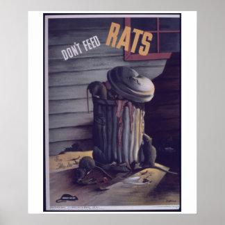 No hacen los _Feed_Rats. - poster del