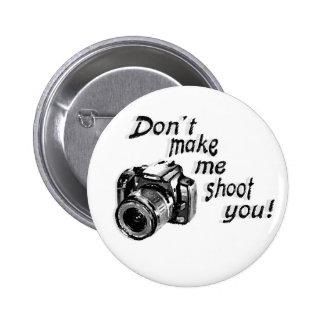 No haga que le tira botón pins