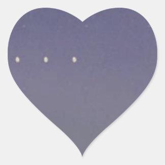 No haga - Usted-Saber-que-YO-SER-Triste Pegatina En Forma De Corazón