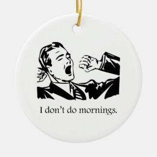 No hago mañanas adorno de reyes