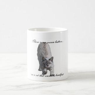 No hay botón de la cabezada…, en un gato t… taza de café