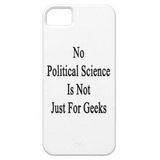 No hay ciencia política apenas para los frikis iPhone 5 fundas