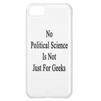 No hay ciencia política apenas para los frikis