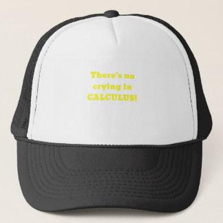 No hay griterío en cálculo gorra de camionero