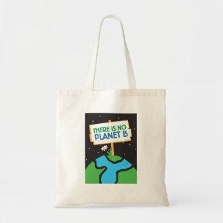 No hay la bolsa de asas del planeta B