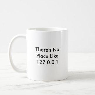 No hay lugar como 127.0.0.1 taza de café