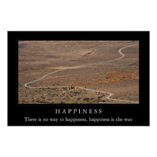 No hay manera a la felicidad poster