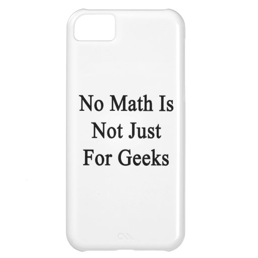 No hay matemáticas apenas frikis