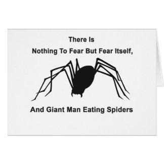 No hay nada temer sino temerse, y Gian Tarjetas