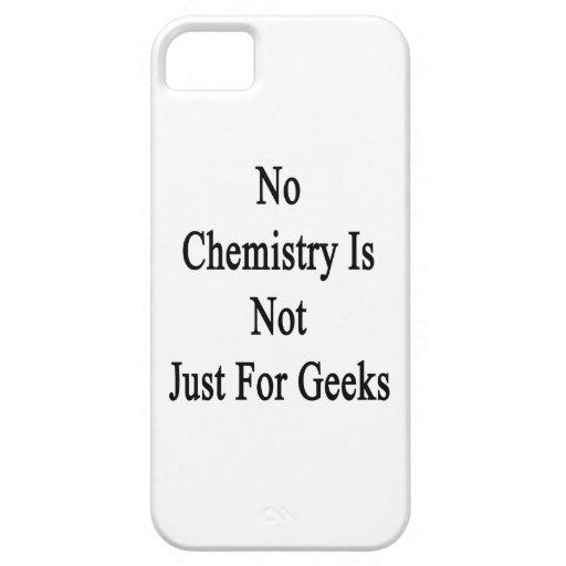 No hay química apenas frikis iPhone 5 Case-Mate carcasas