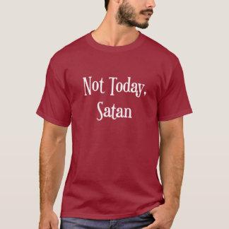 No hoy la camiseta de los hombres de Satan