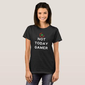 No hoy videojugador - anillo rojo de la camiseta