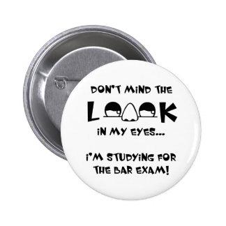 No importe del examen para ejercer la abogacía de  chapa redonda 5 cm