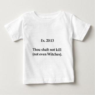 No incluso camiseta de bebé