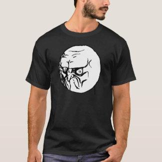 No Internet gruñón Meme Camiseta