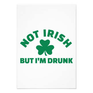 No irlandés sino yo es el trébol borracho