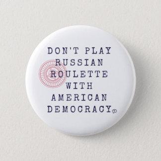 No juegue el botón de la ruleta rusa