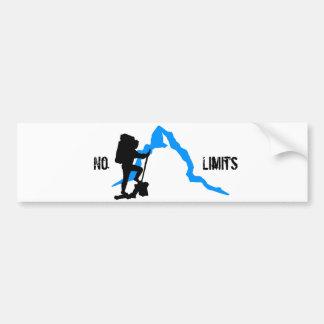 No limits pegatina