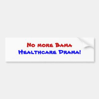 No más de atención sanitaria de Bama. Pegatina par Pegatina De Parachoque