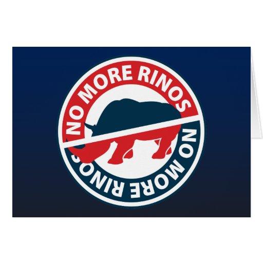 No más de RINOS Felicitaciones