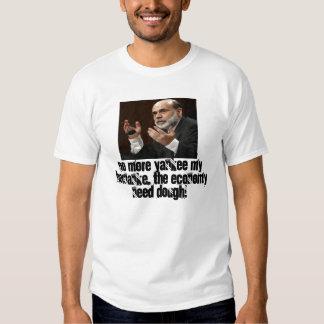 No más de yanqui mi Bernanke Camiseta