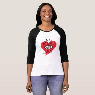 NO MÁS MIENTE el | AllSeeingHeart.org Camiseta