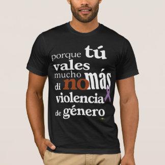 No Más Violencia de Género Camiseta