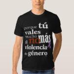 No Más Violencia de Género Camisetas