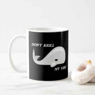 No mate a mi taza del retruécano de la ballena del