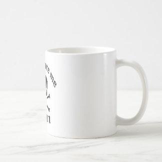 No me asuste que soy 11 taza de café