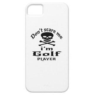 No me asuste que soy jugador de golf funda para iPhone SE/5/5s