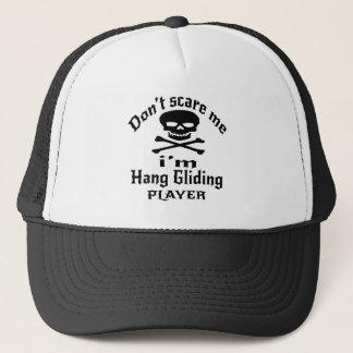 No me asuste que soy jugador del ala delta gorra de camionero