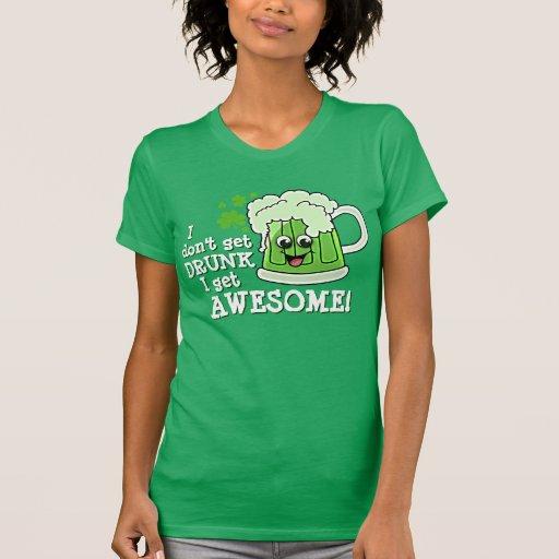 No me consigo BEBIDO consigo IMPRESIONANTE Camiseta