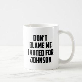 No me culpe taza de café