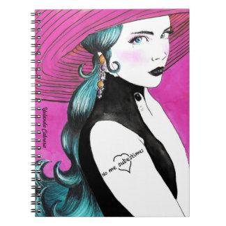 No me subestimes cuaderno