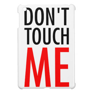 No me toque