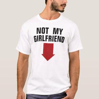 No mi novia camiseta