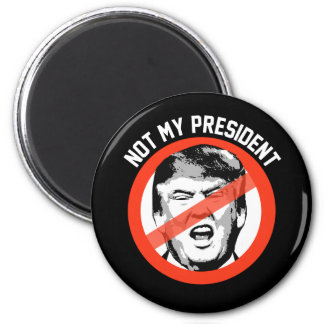 No mi presidente - pare el símbolo del triunfo -- imán