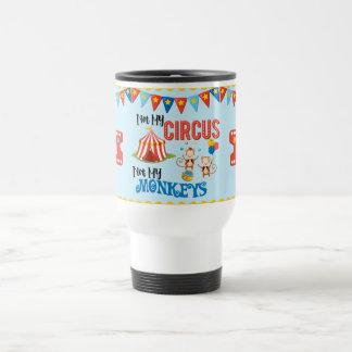 No mi taza personalizada circo del viaje