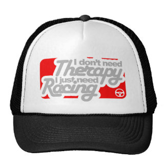 No necesito terapia que apenas necesito competir gorra