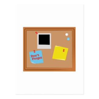 No olvide postal