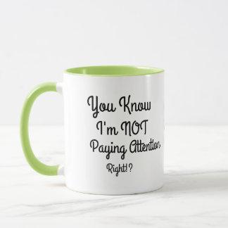 No pagar la taza de café de la atención