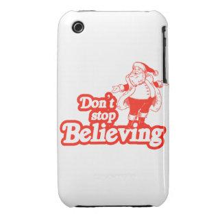 No pare el creer iPhone 3 carcasas