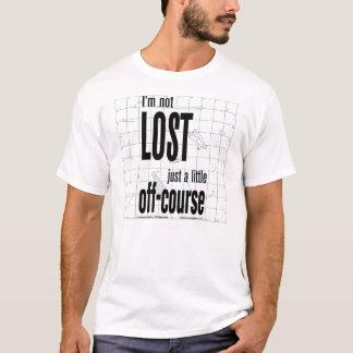 No perdido, apenas Apagado-Curso Camiseta